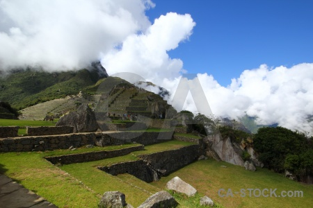 Andes mountain machu picchu south america unesco.
