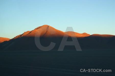 Andes mountain sky altitude bolivia.