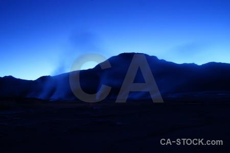 Andes mountain sky atacama desert el tatio.