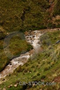 Andes river altitude grass peru.