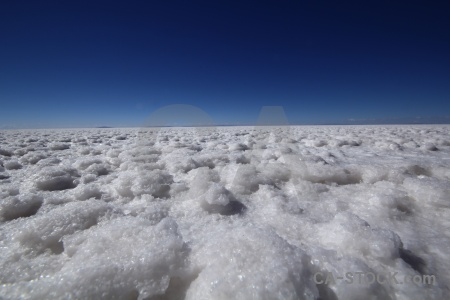 Andes salt crystal flat bolivia.
