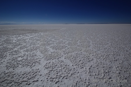 Andes salt flat salar de uyuni sky bolivia.