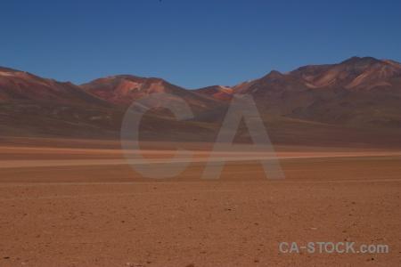Andes siloli desert landscape mountain bolivia.