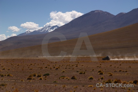 Andes sky cloud mountain car.