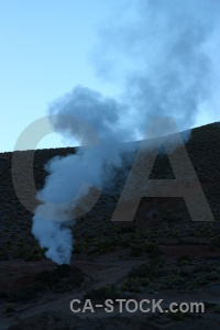 Andes sky geyser south america el tatio.