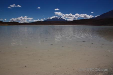 Andes sky mountain laguna honda snowcap.