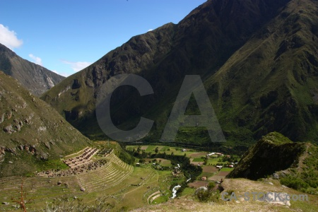Andes sky peru llaqtapata mountain.
