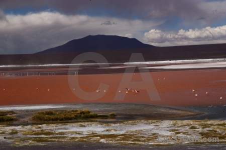 Andes sky salt altitude south america.