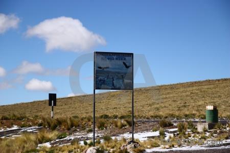 Andes sky snow puno peru.