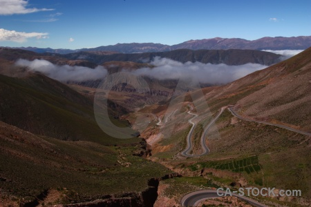 Andes sky valley south america cloud.