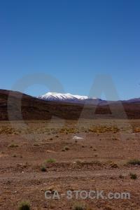 Andes snowcap mountain south america altitude.