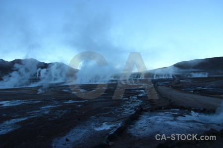 Andes south america landscape rock el tatio.
