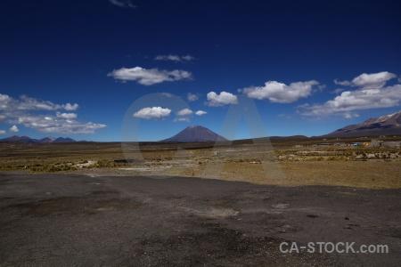 Andes south america volcano sky stratovolcano.