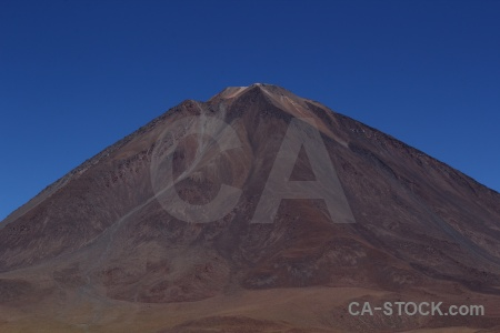 Andes south america volcano stratovolcano landscape.