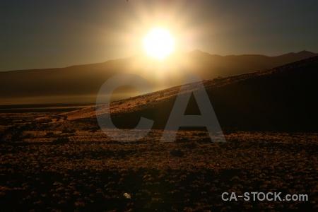 Andes sunrise bolivia landscape altitude.