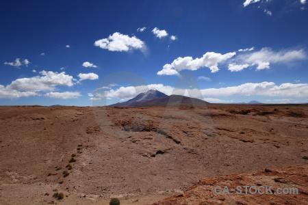 Andes volcano altitude bolivia rock.
