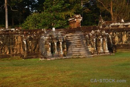 Angkor temple cambodia buddhist stone.