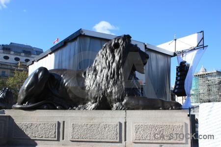 Animal blue statue tiger.