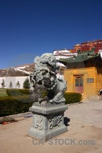 Animal china potala palace asia tibet.