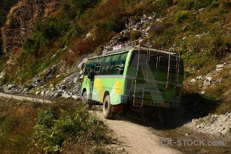 Annapurna sanctuary trek tree valley south asia nepal.