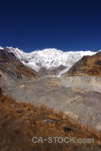 Annapurna trek valley abc altitude.