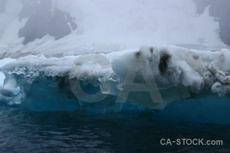 Antarctic peninsula antarctica fog water iceberg.