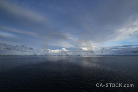 Antarctic peninsula antarctica palmer archipelago mountain snowcap.