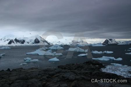 Antarctic peninsula marguerite bay snowcap day 6 ice.