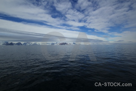Antarctic peninsula sky sea marguerite bay bellingshausen.