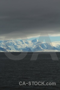 Antarctic peninsula sky snow landscape snowcap.