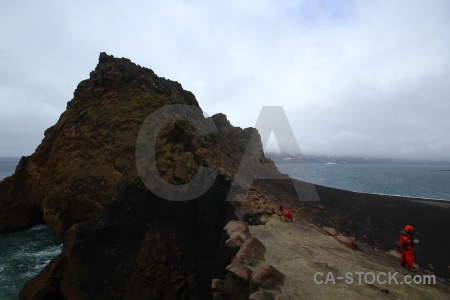 Antarctic peninsula whalers bay cloud antarctica cruise deception island.