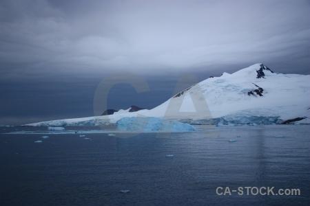 Antarctica antarctic peninsula iceberg marguerite bay snow.