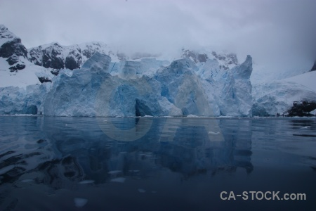 Antarctica cruise astudillo glacier sea mountain water.