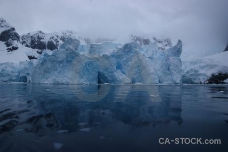 Antarctica cruise astudillo glacier sea mountain water.