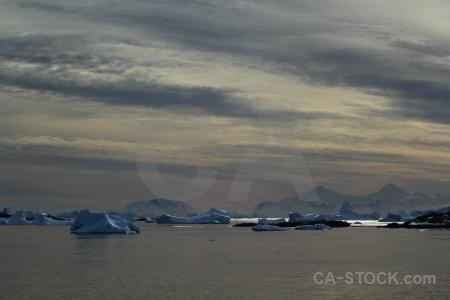 Antarctica cruise cloud sea antarctic peninsula sky.