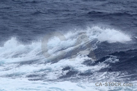 Antarctica cruise day 3 spray wake drake passage.