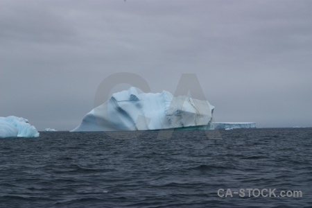 Antarctica cruise horseshoe island water iceberg sky.