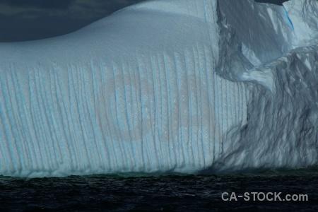 Antarctica cruise ice cloud water iceberg.
