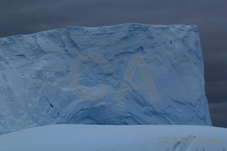 Antarctica cruise iceberg drake passage cloud sky.