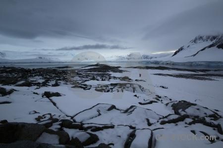 Antarctica cruise palmer archipelago antarctica cloud snowcap.