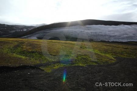 Antarctica cruise plant sky volcano moss.