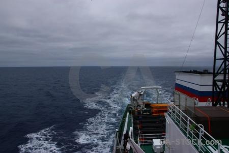 Antarctica cruise sky boat cloud mast.