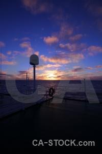 Antarctica cruise sky day 4 drake passage sunset.