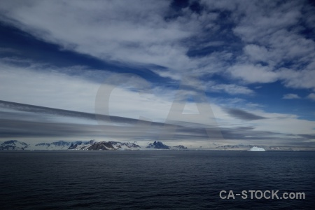 Antarctica mountain water marguerite bay antarctic peninsula.