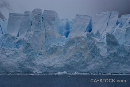 Antarctica paradise harbour snow glacier ice.