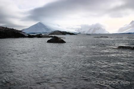 Antarctica petermann island snow wilhelm archipelago antarctic peninsula.