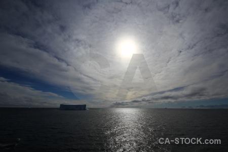 Antarctica sky bellingshausen sea iceberg mountain.