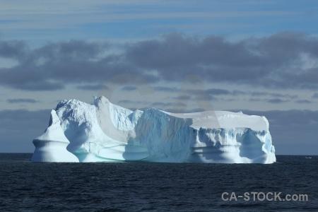 Antarctica water day 5 cloud sea.