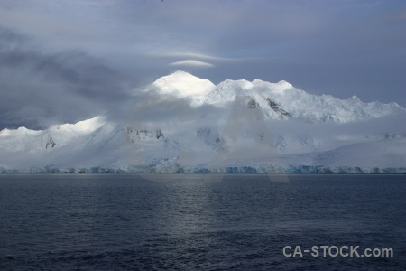 Anvers island cloud snow water south pole.