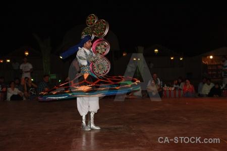 Arabic asia arabian spin dancing.